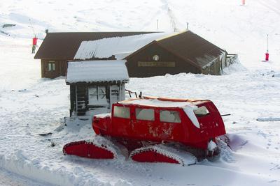 Contraste na neve