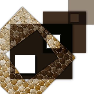 Abstrato Geométrico Marrom - Textura 022
