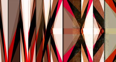 Abstrato Moderno Vermelho - MAC HE 1