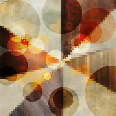 Abstrato Colorido Pixel