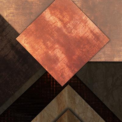 Abstrato Rústico Bronze - Estone 11