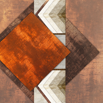 Abstrato Bronze - Estone 04