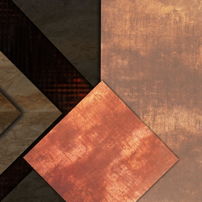 Abstrato Bronze - Estone 10