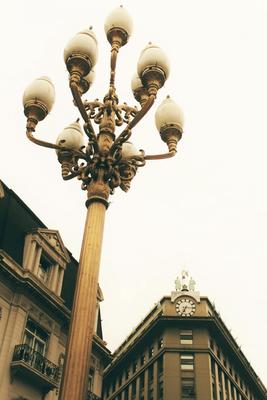 Iluminando a cidade