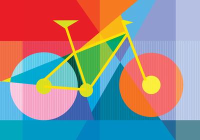 Viagem de bike.
