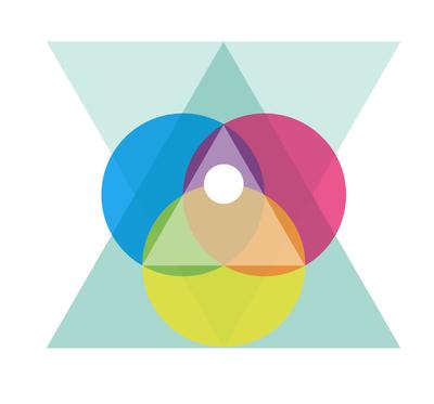 Triângulos e Círculos