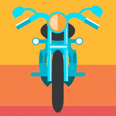 Moto Colorida