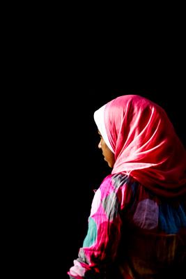 Muçulmana em Marrocos